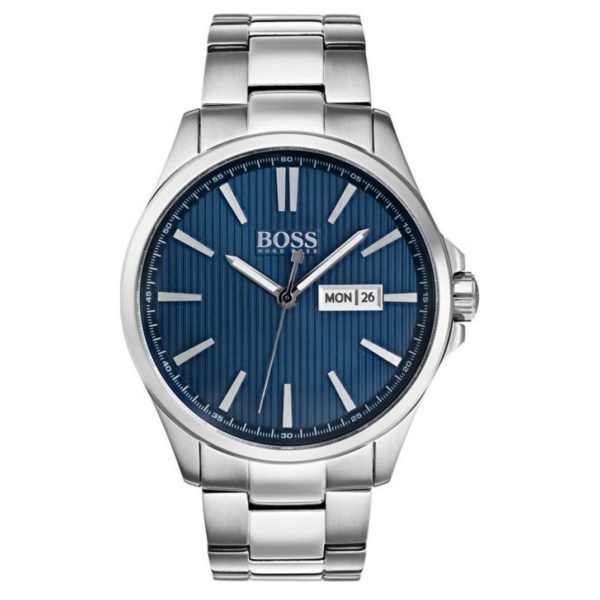 Hugo Boss The James Watch For Men with Silver Metal Bracelet