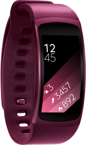 Samsung Gear Fit2 Fitness Band Small Pink SM-R3600ZINXSG