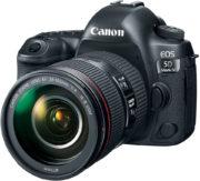 Canon EOS 5D Mark IV DSLR Camera Black With 24-105mm F/4L IS USM Lens
