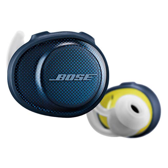 Bose Sound Sport Free Wireless Earbuds Navy/Citron - 7743730020