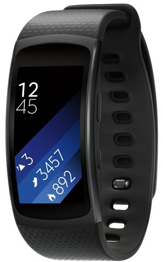 Samsung Gear Fit2 Fitness Band Small Dark Grey SM-R3600DANXSG