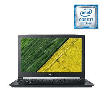 Acer Aspire 5 Laptop - Core i7 1.80GHz 12GB 1TB 2GB Win10 15.6inch FHD Grey