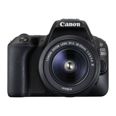 Canon EOS 200D DSLR Camera With EFS 18-55 DC III Kit