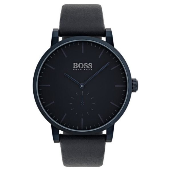Hugo Boss Essence Watch For Men with Blue Leather Strap