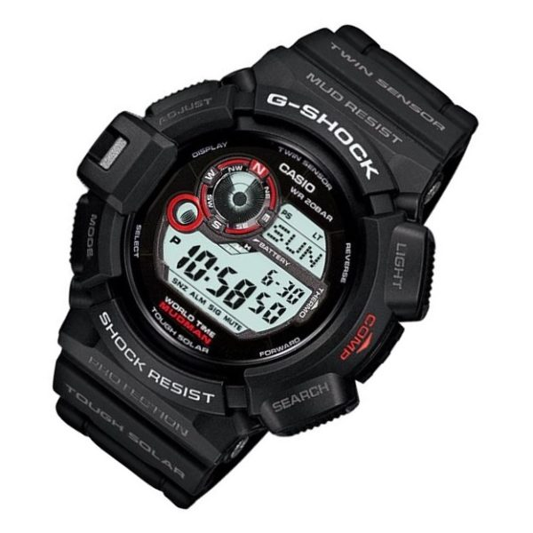 Casio G-9300-1 G-Shock MUDMAN Tough Solar Watch