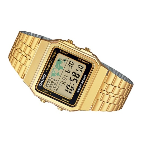 Casio A500WGA-1 Vintage Unisex Watch