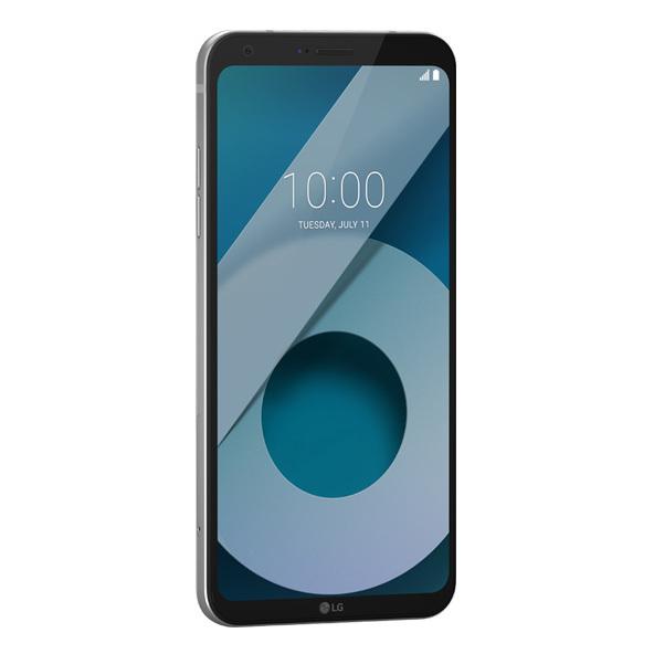 LG Q6 Plus 4G Dual Sim Smartphone 64GB Platinum + Case