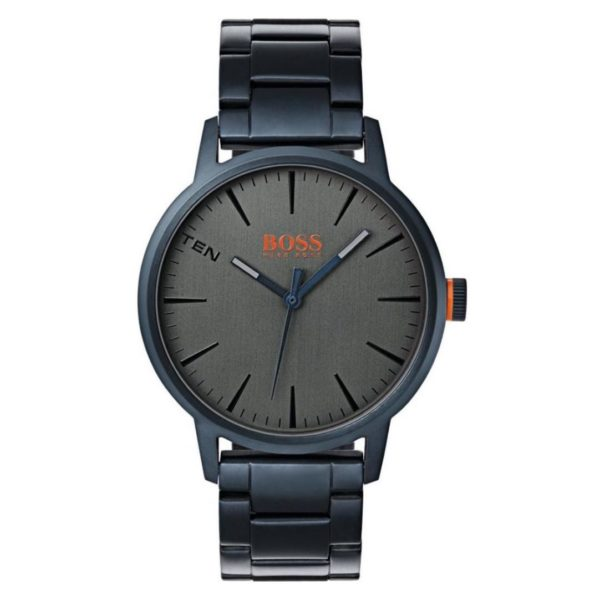 Hugo Boss Copenhagen Watch For Men with Blue Metal Bracelet