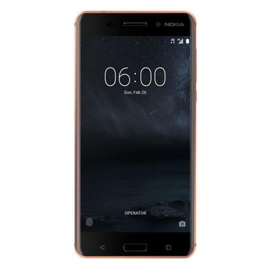 Nokia 6 4G Dual Sim Smartphone 32GB Copper