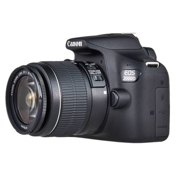 Canon Eos 2000d: Buy Canon EOS 2000D DSLR Camera Black With 18-55mm IS II