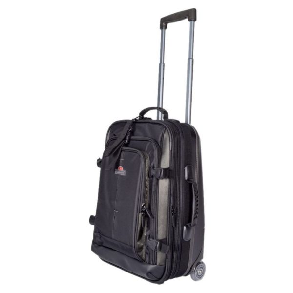 Eminent Semi Hard Eva Cabin Trolley Luggage Bag Black 29inch - AL0429BLK