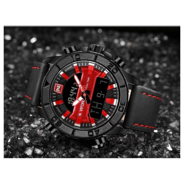 Naviforce Mens Watch Red NF9114