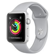 Apple Watch Series 3 GPS - 38mm Silver Aluminium Case with Fog Sport Band