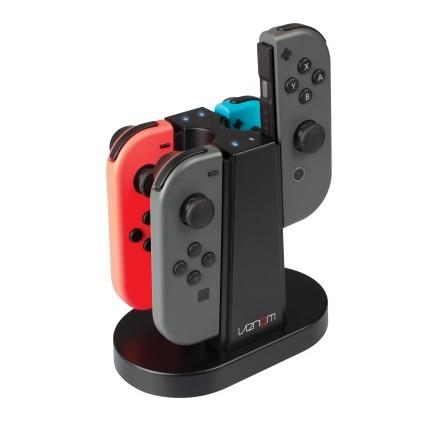 Buy Venom Quad Charging Station For Nintendo Switch