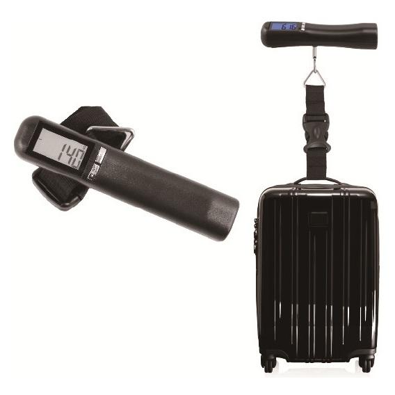 Eklasse Digital Display Luggage Scale Black 50kg