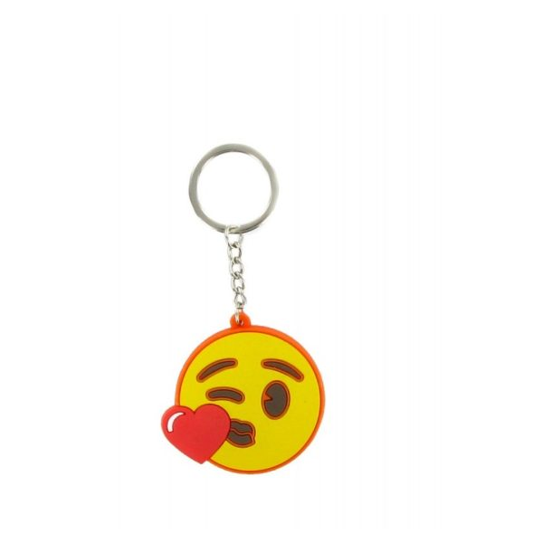 Comansi Emoji Heart Kiss Face Keychain E10001