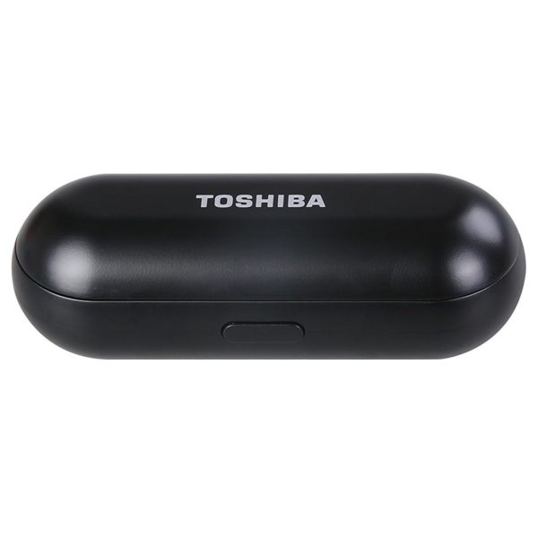 a28a81fa34b Toshiba True Wireless Bluetooth Earbuds With Charging Case Black - RZEBT700E