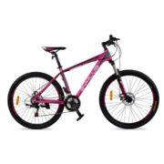 Zyklus Turbo 36 Mountain Bike Red Purple/Grey