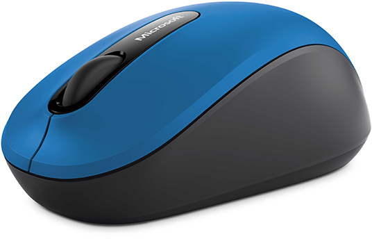 Microsoft PN700029 3600 Bluetooth Mobile Mouse Blue