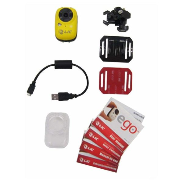 Liquid Image LIC EGO 727 Mountable Camera Yellow