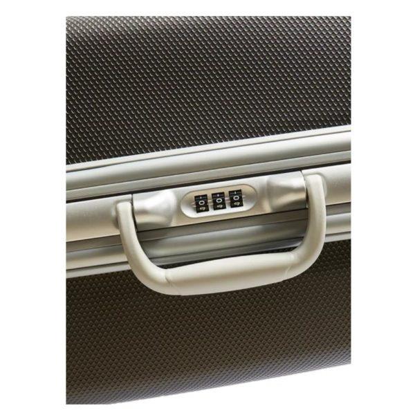 Eminent ABS Trolley Luggage Bag Dark Silver 29inch E8M6-29_SLVDR