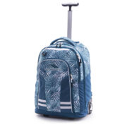 High Sierra 66IAS004 Blaise Trolley Backpack Palms/Lagoon/White