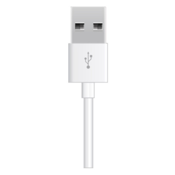 Eveready Micro USB Cable 1m White - BMCFWH4