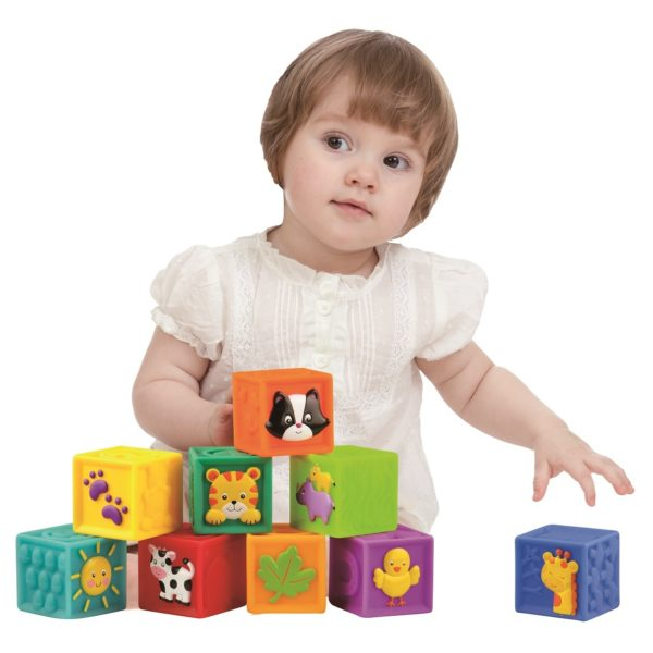Little Hero 3043 Deco Soft Blocks Toy 9Pcs