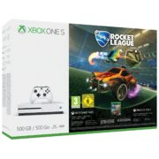 Microsoft Xbox One S Console 500GB with Rocket League DLC Game + 3 Months Live Gold Membership