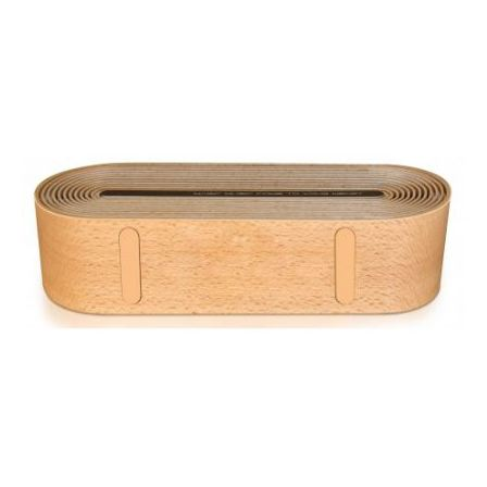 Merlin Timber Tunes Portable Wireless Speaker Brown 92852
