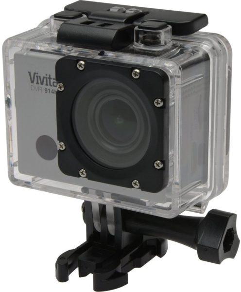 Vivitar DVR 914HD 4K Action Camera Silver