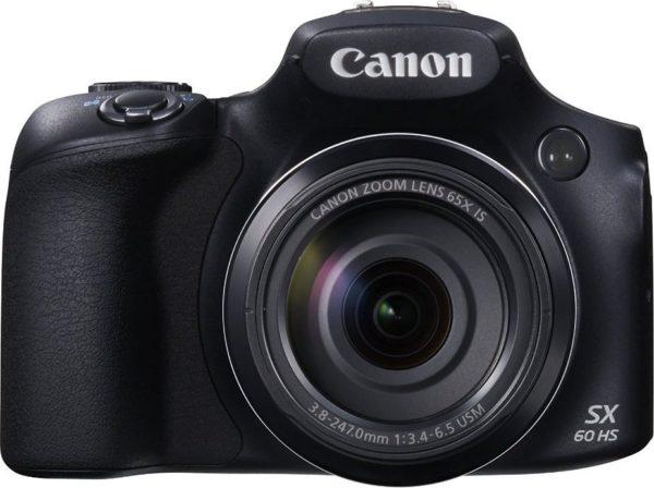 Canon PowerShot SX60 HS Digital Camera Black