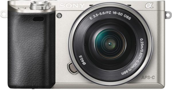 Sony ILCE6000LS A6000 Digital Mirrorless Camera Silver + 16-50mm Lens