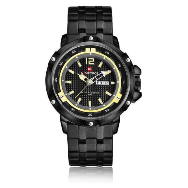 Naviforce Unisex Watch Yellow NF9073