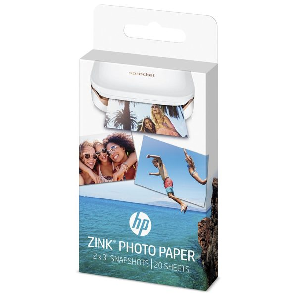 HP 2LY74A Zink Photo Paper 20Sheets