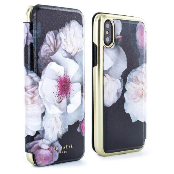 0f1e254d2 Buy Proporta Ted Baker Mirror Folio Case Chelsea Black For iPhone X ...