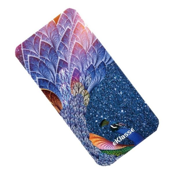 Eklasse Peacock Print Power Bank 10000mAh - EKPB10020PT