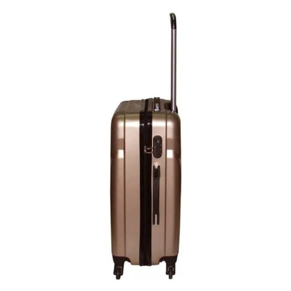Highflyer Terminator Trolley Luggage Bag Gold 3pc Set TH1609PPC3PC