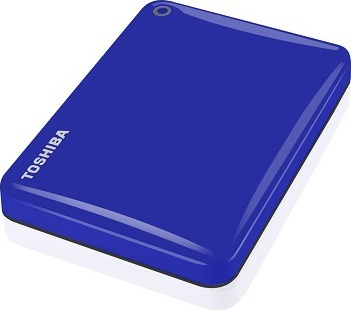 Toshiba HDTC820EL3CA Canvio Connect II Hard Drive 2TB Blue