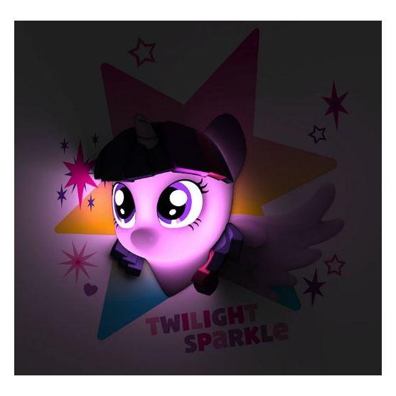 3DLightFX Twilight Sparkle 3D MLP Decor Wall Light 40012