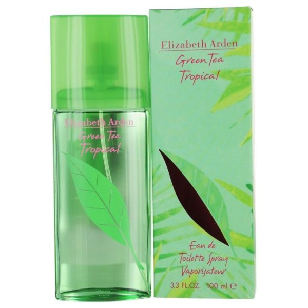 Elizabeth Arden Green Tea Tropical Perfume For Women 100ml Eau de Toilette