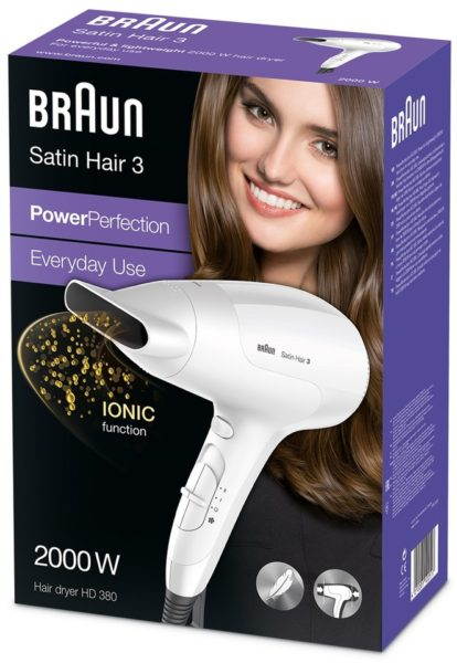 Braun Hair Dryer HD380