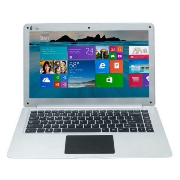 ILife Zedair Plus Laptop - Celeron 1.1GHz 6GB 500GB Shared Win10 15.6inch FHD Silver