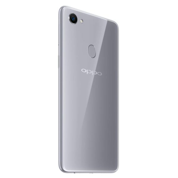 Oppo F7 4G LTE Dual Sim Smartphone 64GB Moonlight Silver