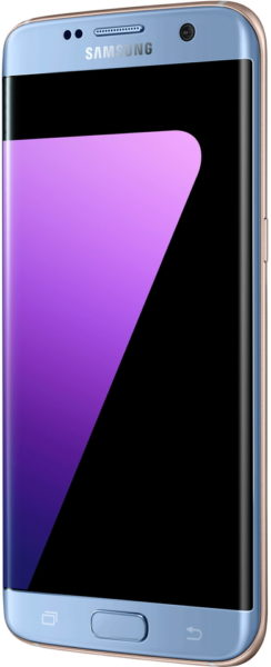 Samsung Galaxy S7 Edge 4G Dual Sim Smartphone 32GB Blue
