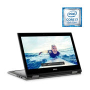Dell Inspiron 13 5379 Convertible Touch Laptop - Core i7 1.8GHz 16GB 512GB Shared Win10 13.3inch FHD Silver Grey