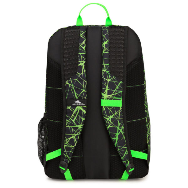 High Sierra H04AW073 Blaise Backpack Digital Web/Black/Lime