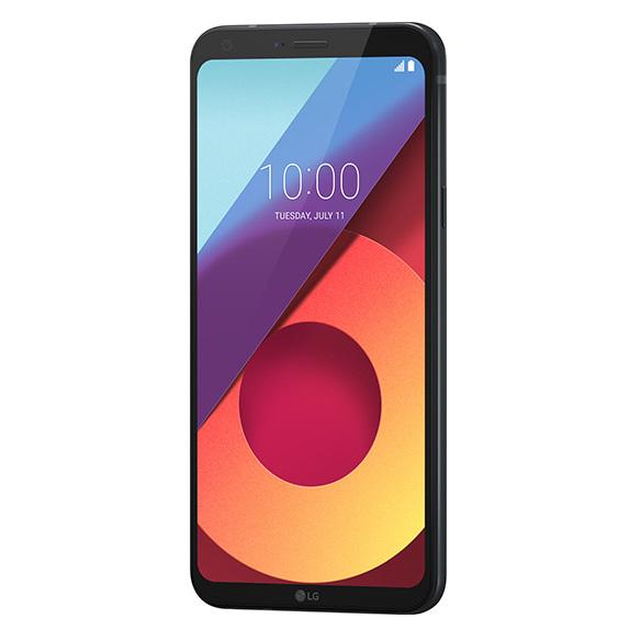 LG Q6 4G Dual Sim Smartphone 32GB Black + Case