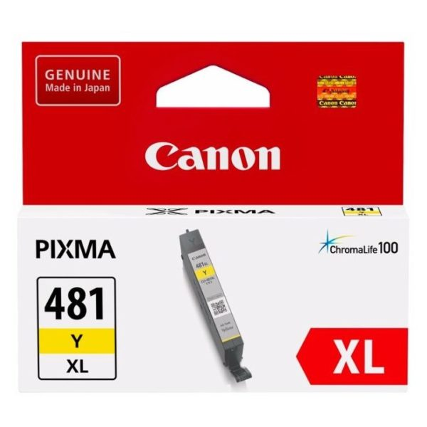 Canon CLI-481XLY Inkjet Cartridge Yellow