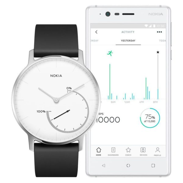 Nokia Steel Activity & Sleep Smart Watch Black - HWA01